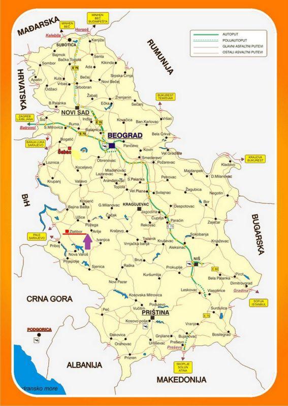 Karta Srbija Jpg